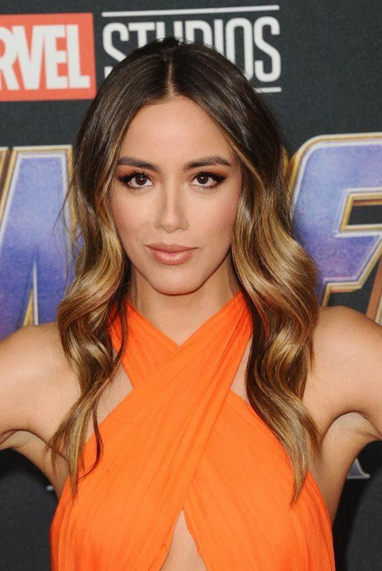 CHLOE BENNET at Avengers: Endgame Premiere in Los Angeles 04/22/2019
