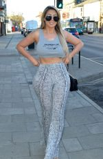 CHLOE FERRY Out and About in London 03/31/2019