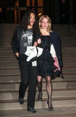 CHLOE SEVIGNY and Luka Sabbat at Marc Jacobs