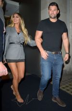 CHLOE SIMS at Nobu in London 04/13/2019