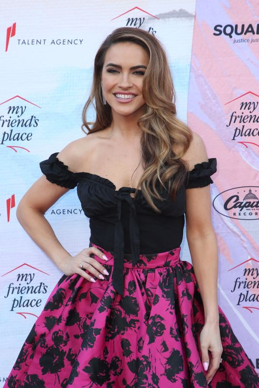 CHRISHELL STAUSE at Ending Youth Homelessness: A Benefit for My Friend's Place in Los Angeles 04/06/2019