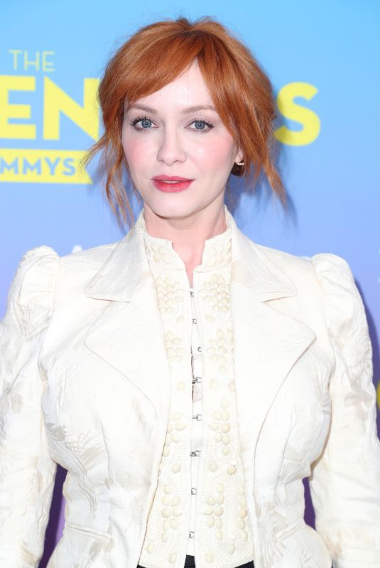 CHRISTINA HENDRICKS at Deadline Contenders Emmy Event in Los Angeles 04/07/2019