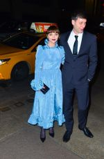 CHRISTINA RICCI and James Heerdegen at Marc Jacobs