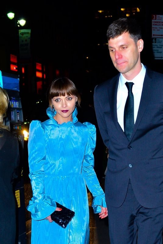 CHRISTINA RICCI and James Heerdegen at Marc Jacobs' Wedding Reception in New York 04/06/2019