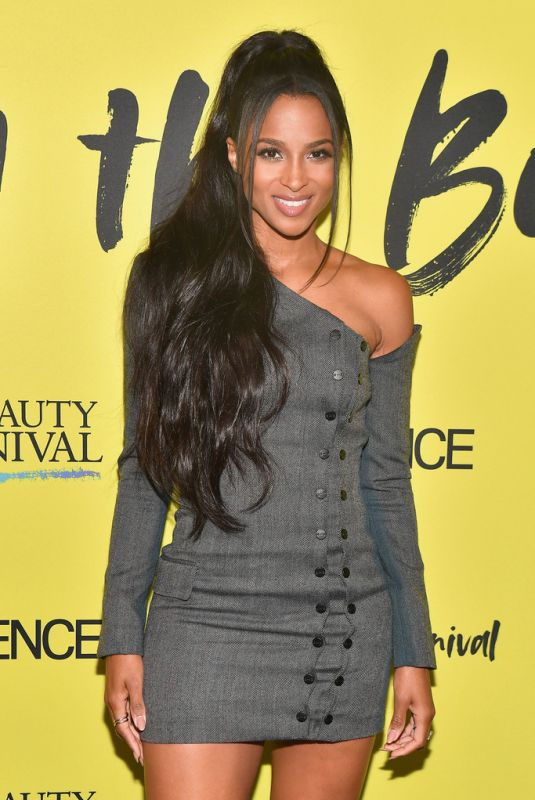 CIARA at 2019 Essence Beauty Carnival in New York 04/27/2019