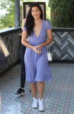 CINDY KIMBERLY at Tocaya Mexican Restaurant in West Hollywood 04/01/2019