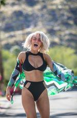 CJ LANA PERRY in Bikini at 2019 Coachella Valley Music and Arts Festival 04/12/2019