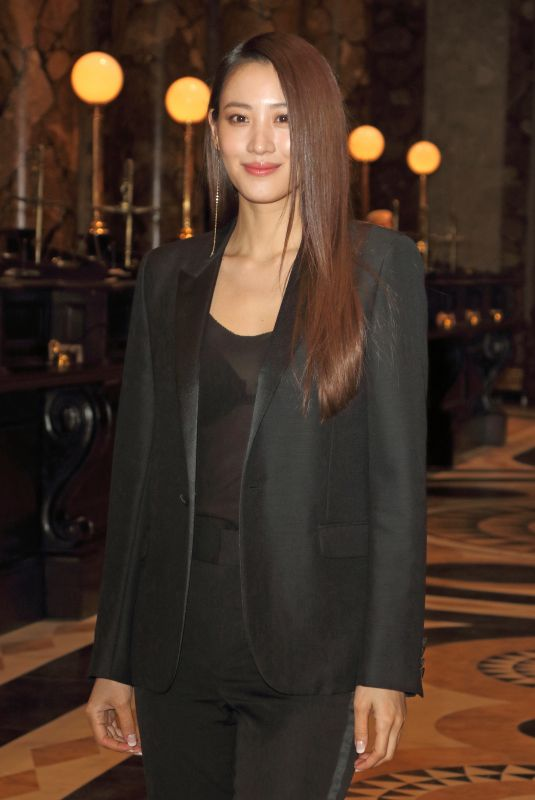 CLAUDIA KIM at Original Gringotts Wizarding Bank Launch at Warner Bros. Studio Tour in Watford 04/02/2019