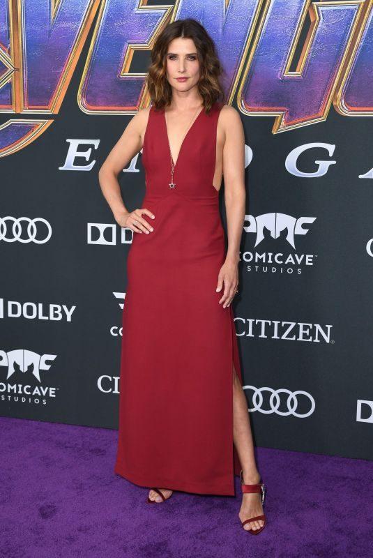 COBIE SMULDERS at Avengers: Endgame Premiere in Los Angeles 04/22/2019