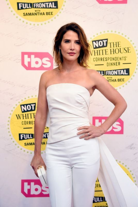 COBIE SMULDERS at Not The White House Correspondents' Dinner in Washington, D.C. 04/26/2019