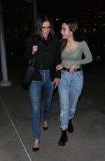 COURTENEY COX and COCOARQUETTE Night Out in Hollywood 04/24/2019