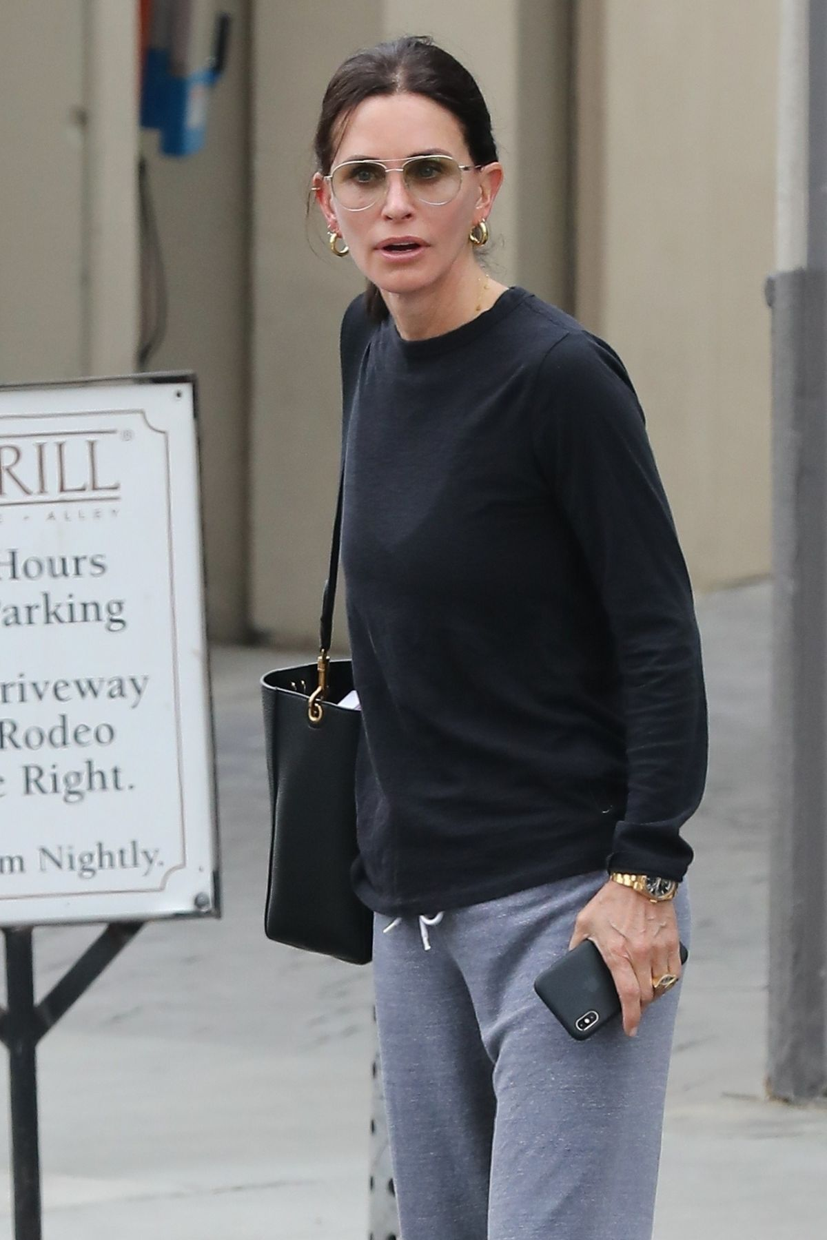 COURTENEY COX Out and About in Beverly Hills 04/04/2019 ...