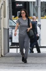 COURTENEY COX Out and About in Beverly Hills 04/11/2019