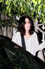COURTENEY COX Out in Santa Monica 04/11/2019