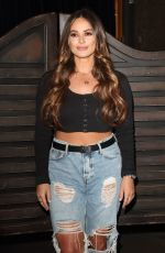 COURTNEY GREEN at Celebs on the Ranch Screening Party in London 04/01/2019