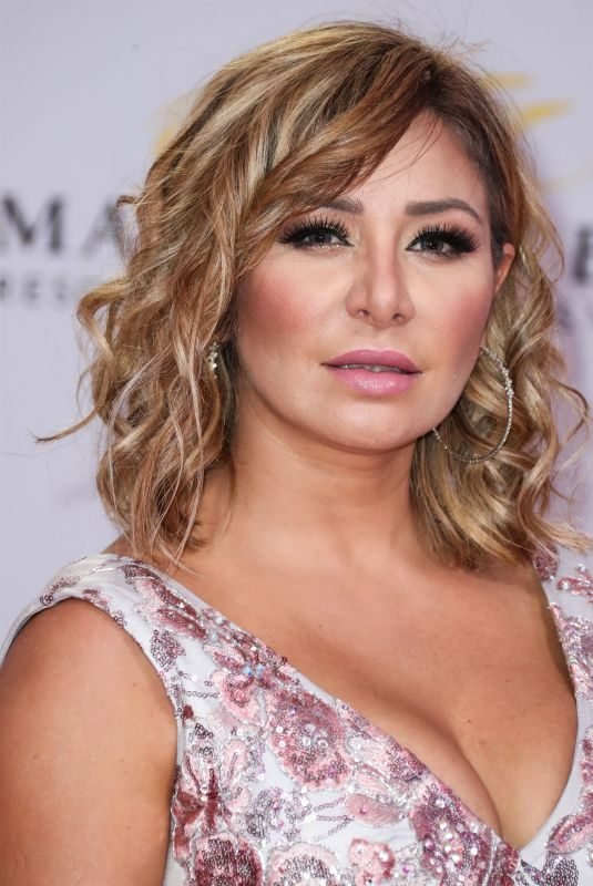 CRISTINA EUSTACE at 2019 Billboard Latin Music Awards Press Room in Las Vegas 04/25/2019