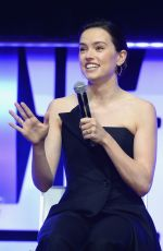DAISY RIDLEY at The Rise of Skywalker Panel in Chicago 04/12/2019