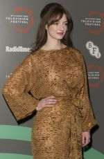 DAKOTA BLUE RICHARDS at BFI and Radio Times Television Festival Summer of Rockets in London 04/12/2019