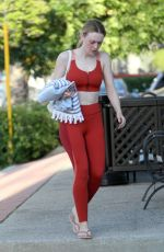 DAKOTA FANNING at a Gym in Los Angeles 04/09/2019