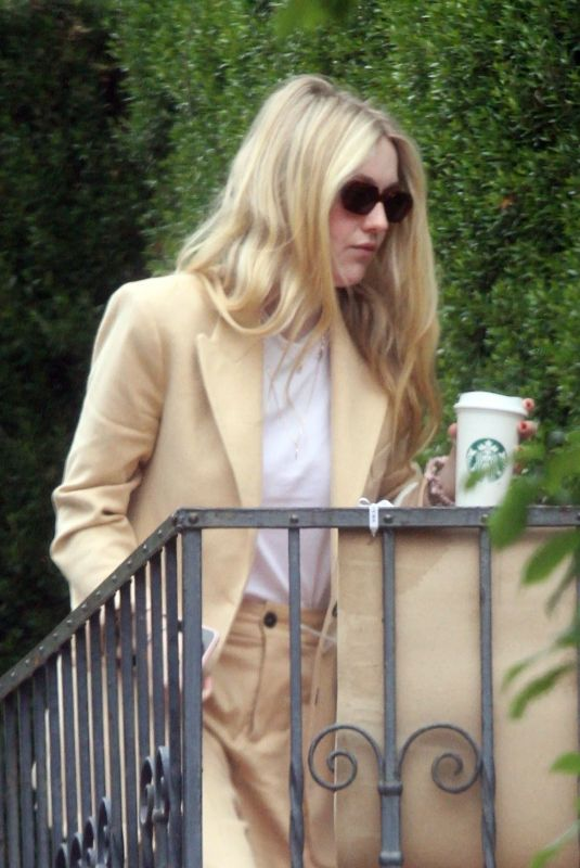 DAKOTA FANNING Out and About in Los Angeles 04/27/2019