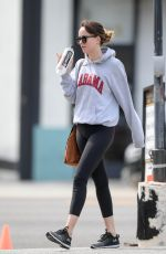 DAKOTA JOHNSON Out and About in Los Angeles 04/07/2019