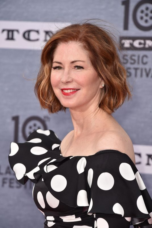 DANA DELANY at When Harry Met Sally Reunion Opening Night in Los Angeles 04/11/2019