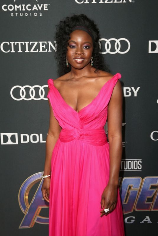 DANAI GURIRA at Avengers: Endgame Premiere in Los Angeles 04/22/2019