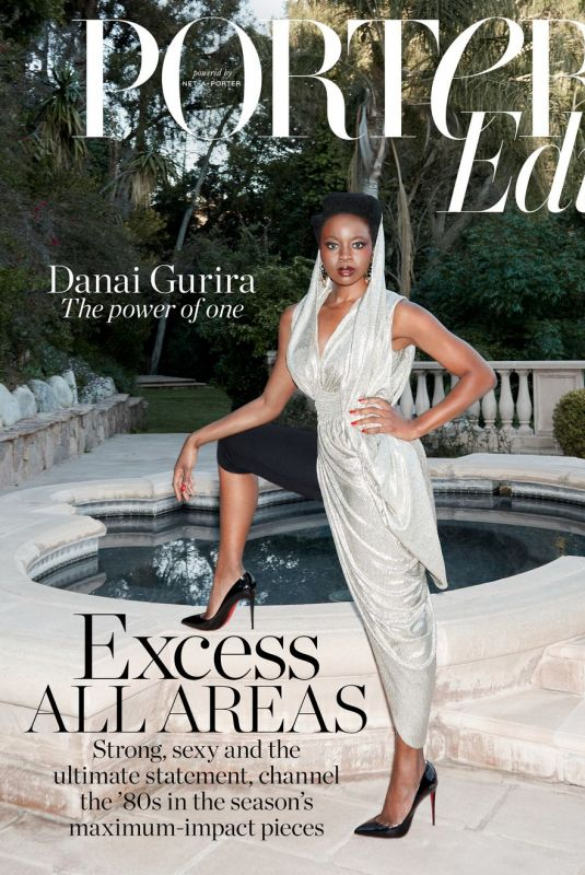 DANAI GURIRA in Porter Edit Magazine, April 2019