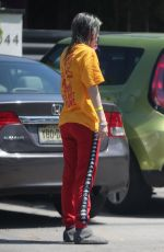 DANI THORNE Out and About in Los Angeles 04/19/2019