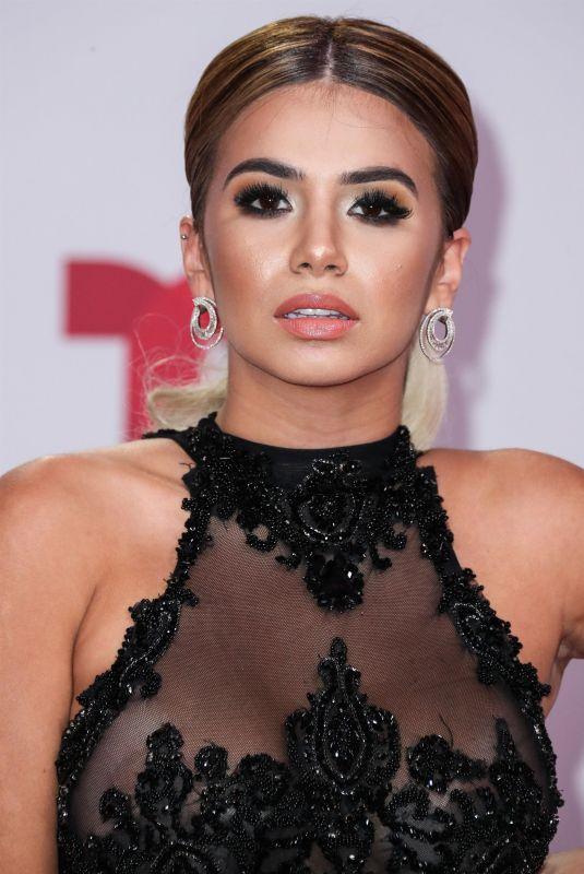DANIELA at 2019 Billboard Latin Music Awards Press Room in Las Vegas 04/25/2019
