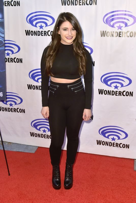 DANIELA BOBADILLA at Justice League vs. the Fatal Five Press Line at ComicCon in Anaheim 03/29/2019