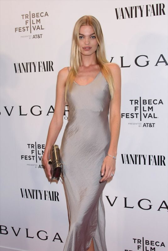 DAPHNE GROENEVELD at Bvlgari Premiere of Celestial and the fourth Wave in New York 04/29/2019