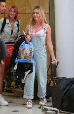 DENISE RICHARDS at Sydney Airport 04/09/2019