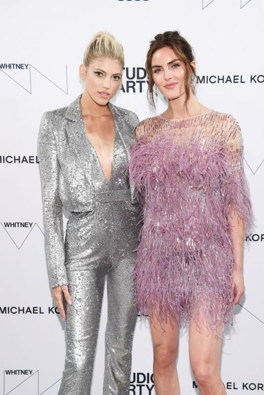 DEVON WINDSOR and HILARY RHODA at Whitney Museum of American Art Gala + Studio Party in New york 04/09/2019