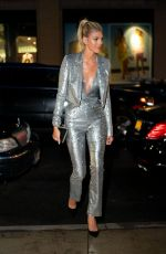 DEVON WINDSOR Leaves Whitney Museum of American Art Gala + Studio Party in New york 04/09/2019