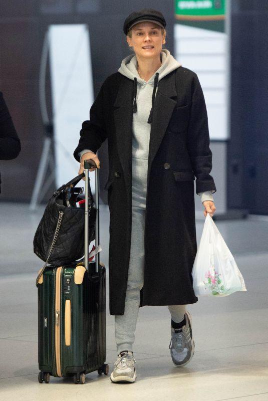 DIANE KRUGER at JFK Airport in New York 04/29/2019