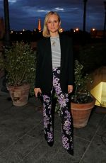 DIANE KRUGER Out for Dinner at Loulou in Paris 04/26/2019