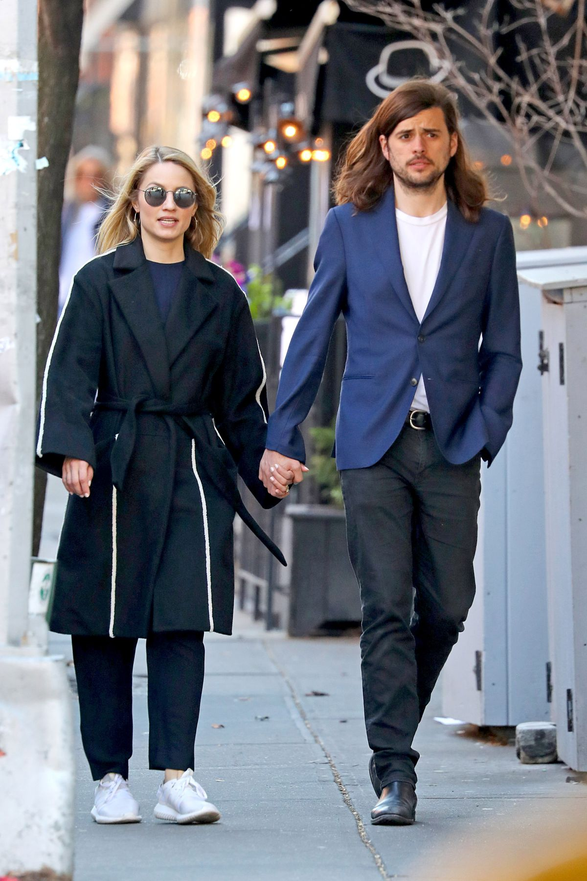 DIANNA AGRON and Winston Marshall Out in New York 04/03 ...