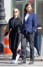 DIANNA AGRON and Winston Marshall Out in New York 04/03/2019