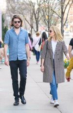 DIANNA AGRON and Winston Marshall Out in New York 04/08/2019