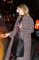 DIANNA AGRON Leaves Bowery Hotel in New York 04/02/2019