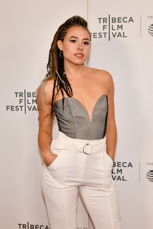 DORA MADISON BURGE at Bliss Screening at 2019 Tribeca Film Festival 04/27/2018