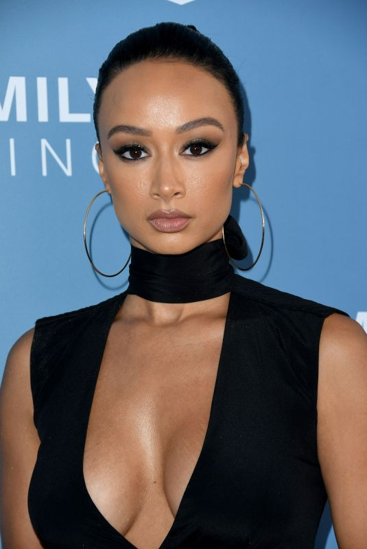 DRAYA MICHELE at LAFH Awards and Fundraiser in West Hollywood 04/25/2019