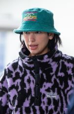 DUA LIPA at JFK Airport in New York 04/26/2019