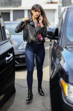 EIZA GONZALEZ in Tight Denim Out in Beverly Hills 04/05/2019