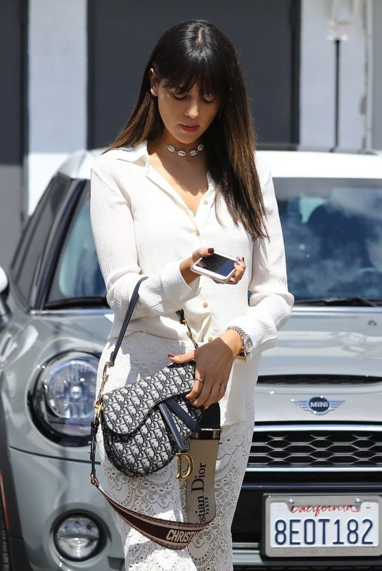 EIZA GONZALEZ Leaves Hair Salon in Los Angeles 04/04/2019