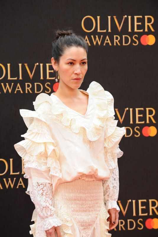 ELEANOR MATSUURA at 2019 Laurence Olivier Awards in London 04/07/2019