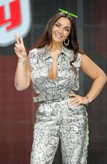 ELETTRA LAMBORGHINI at The Voice of Italy Show Photocall in Milan 04/18/2019