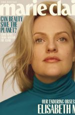 ELISABETH MOSS in Marie Claire Magazine, May 2019