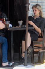 ELIZA SCANLEN Out for Lunch in Hollywood 04/24/2019